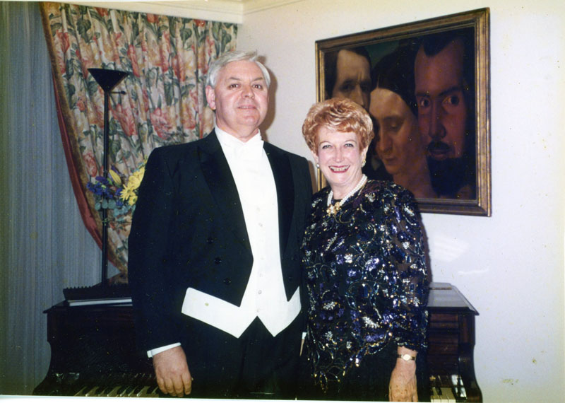 Conal Coad, Bass Baritone and Dorothy McCormack, Pianist